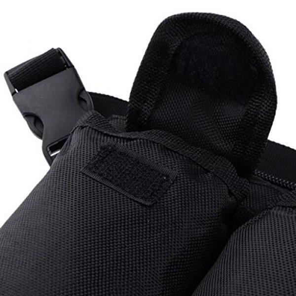 Abbraccia Tactical Pouch 2 Abbraccia Adjustable Waist Bag with Quick Release Buckle