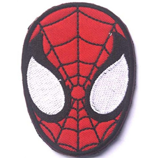 Tactical Embroidery Patch Airsoft Morale Patch 1 Marvel Comics Universe Avengers Spiderman Embroidery Patch Military Tactical Morale Patch Badges Emblem Applique Hook Patches for Clothes Backpack Accessories