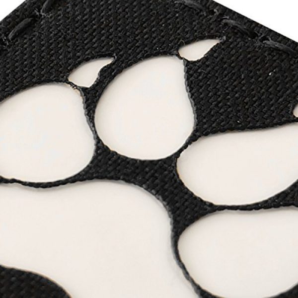 Tactical Freaky Airsoft Morale Patch 6 K9 Handler Dog Paw 2x2 GITD Tactical Morale Fastener Patch