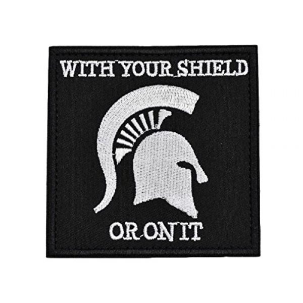 JFFCE Airsoft Morale Patch 1 Morale Patch Tactical Military Morale 3D Patches (SBDD)