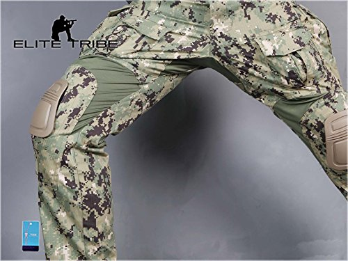 Elite Tribe Tactical Pant 5 Emerson Airsoft Hunting Tactical Pants Combat Gen3 Pants with Knee Pad