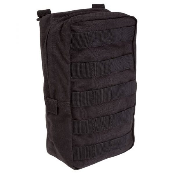 """5.11 Tactical Pouch 1 5.11 Tactical 6"""" x 10"""" All Weather Nylon Vertical Molle Pouch, YKK Zipper Hardware, Style 58717"""