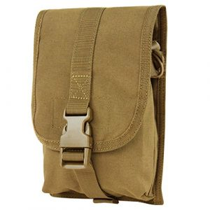 Condor Tactical Pouch 1 Condor Small Utility Pouch - Coyote - 191044-498 - New - MOLLE PALS