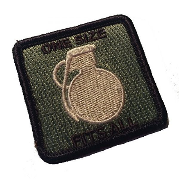 Pantel Tactical Airsoft Morale Patch 1 Multicam Tactical ONE Size Fits ALL Morale Patch Military hook/loop Morale Patch