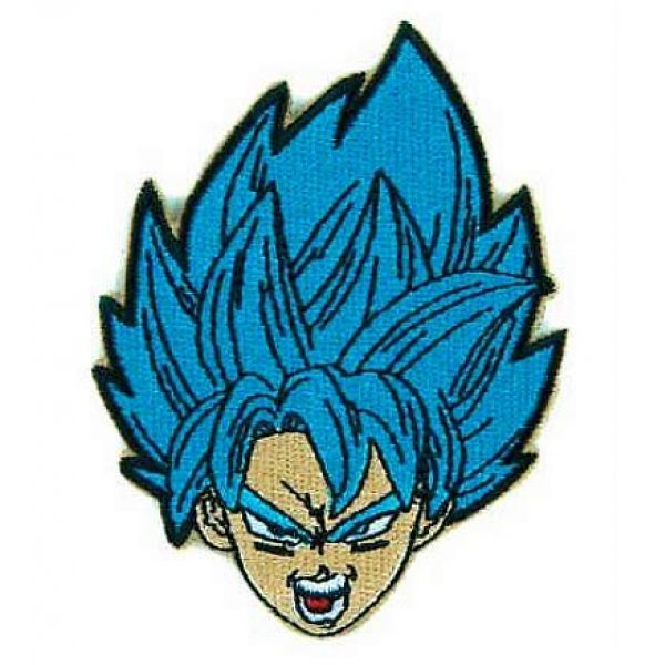 Embroidery Patch Airsoft Morale Patch 1 Dragon Ball Z Goku Super Saiyan Military Hook Loop Tactics Morale Embroidered Patch