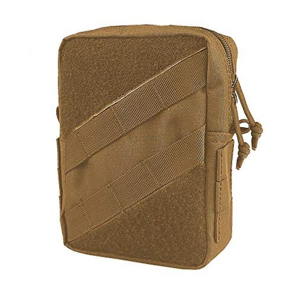 AMYIPO Tactical Pouch 1 AMYIPO Tactical Molle Admin Pouch Equipment Multi-Purpose EDC Utility Tools Bag Utility Pouches