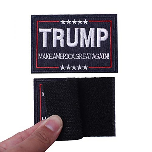 Harsgs Airsoft Morale Patch 5 Harsgs Trump Tactical Morale Patch Make American Great Again Hook and Loop Patch