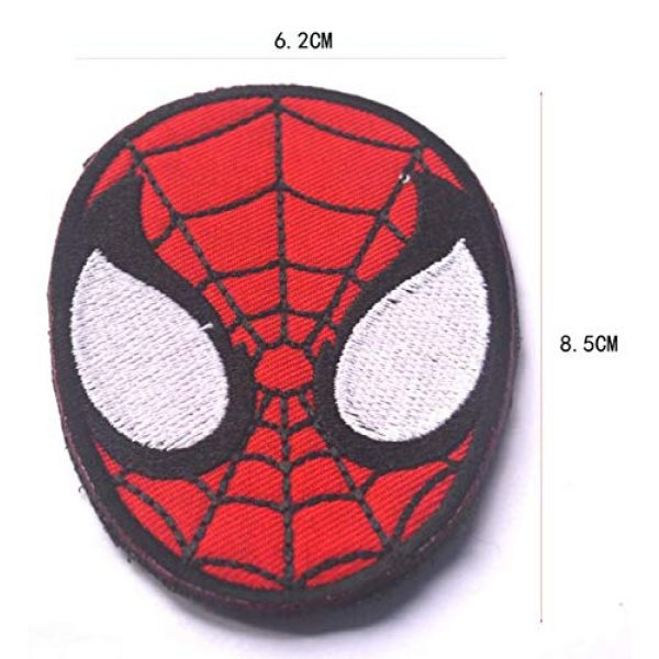 Embroidered Patch Airsoft Morale Patch 2 9pc Marvel Avengers Super Hero 3D Tactical Patch Military Embroidered Morale Tags Badge Embroidered Patch DIY Applique Shoulder Patch Embroidery Gift Patch