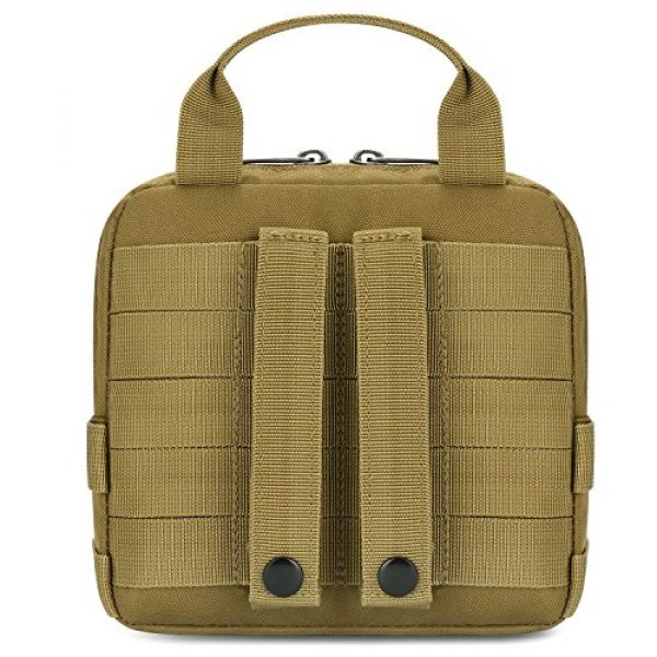 Barbarians Tactical Pouch 7 Barbarians Tactical Admin Pouch, MOLLE Military Tool Map Bag Organizer