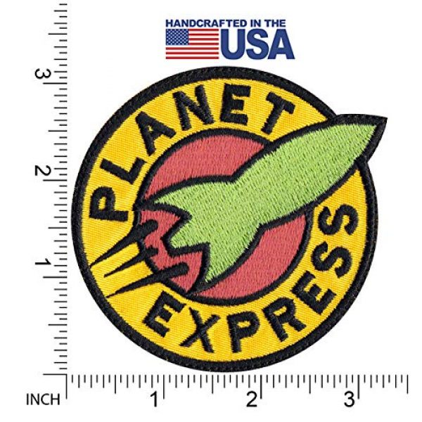 Tactical Patch Works Airsoft Morale Patch 2 Planet Express Futurama Inspired Art Patch
