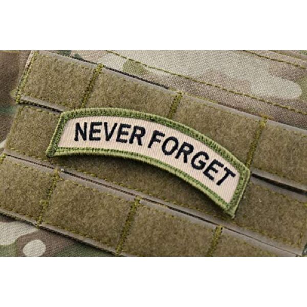 BritKitUSA Airsoft Morale Patch 2 BritKitUSA Never Forget Tab Patch Multicam US Army Morale Patch 9/11 NYC NYFD NYPD PAPNYNJ