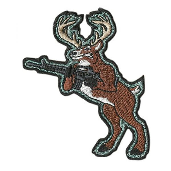Gadsden and Culpeper Airsoft Morale Patch 1 AR-15 Deer Hunting Tactical Morale Patch