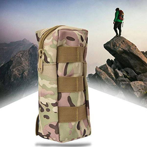 Pasamer Tactical Pouch 5 Pasamer Tacticals-Pouches,Nylon Waterproof Outdoor Camping Accessory Bags Hanging Waist Bag for Hiking Running Cycling Climbing Travel (CP)