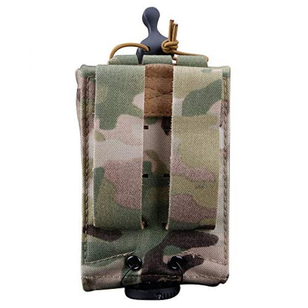 ATAIRSOFT Tactical Pouch 4 ATAIRSOFT Tactical Single MOLLE 1000D Adjustable Magazine Mag Holder Pouch Carrier for Airsoft Hunting Military Shooting