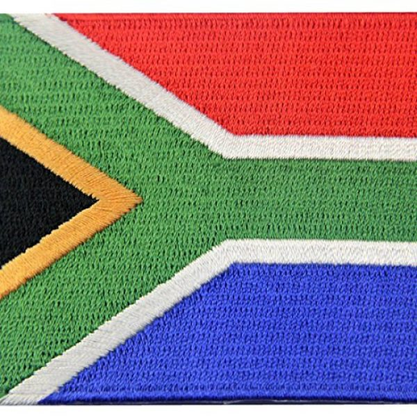 EmbTao Airsoft Morale Patch 2 South Africa Flag Embroidered African Emblem Iron On Sew On National Patch