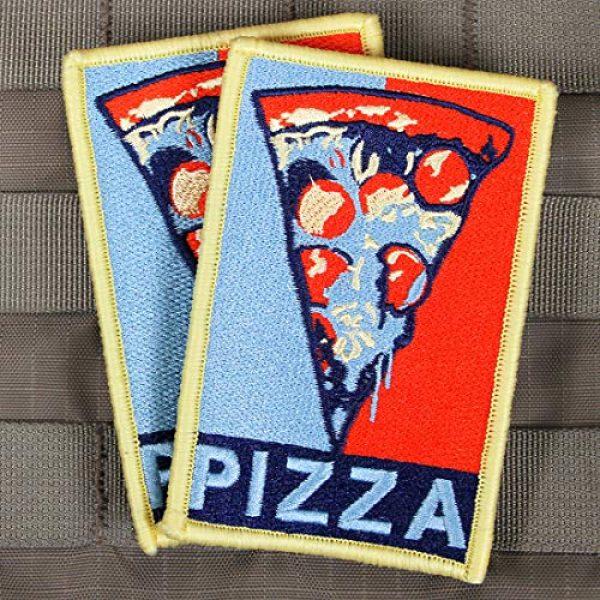 """Violent Little Machine Shop Airsoft Morale Patch 3 """"Pizza"""" Velcro Morale Patch by Violent Little Machine Shop"""