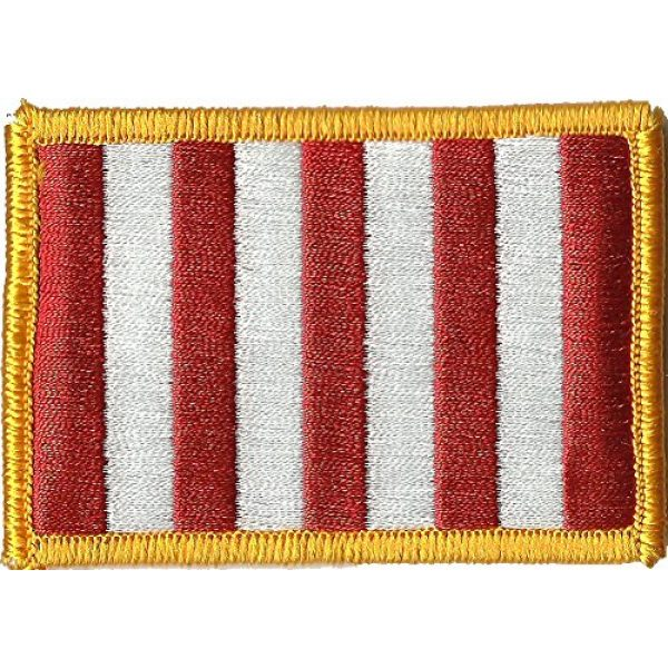 """Gadsden and Culpeper Airsoft Morale Patch 1 Rebellious Stripes - Sons of Liberty Tactical Patch 2""""x3"""""""