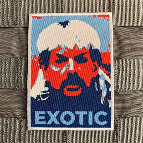 "Violent Little Machine Shop Airsoft Morale Patch 1 Violent Little""Hope"" Tiger King Joe Exotic Embroidered Morale Patch Velcro"