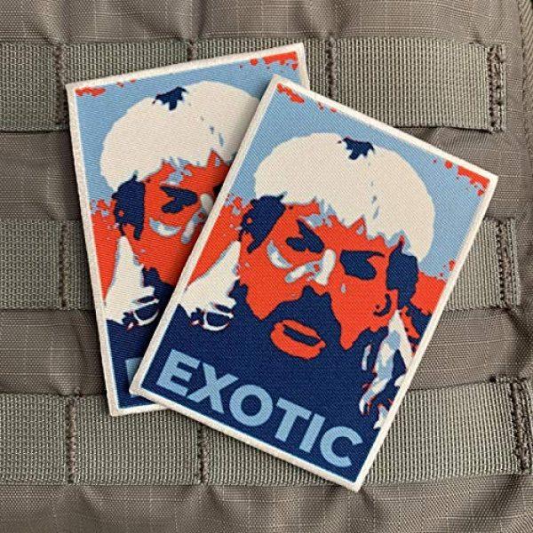 "Violent Little Machine Shop Airsoft Morale Patch 2 Violent Little""Hope"" Tiger King Joe Exotic Embroidered Morale Patch Velcro"