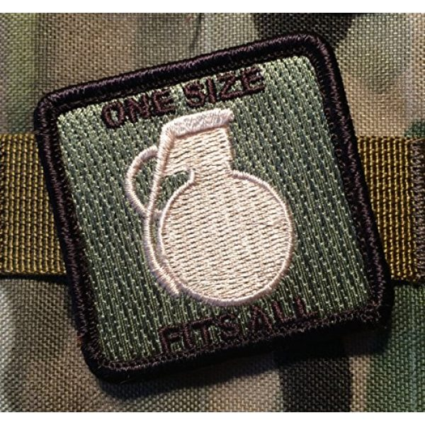 Pantel Tactical Airsoft Morale Patch 2 Multicam Tactical ONE Size Fits ALL Morale Patch Military hook/loop Morale Patch