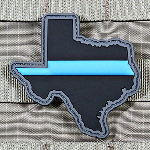 Violent Little Machine Shop Airsoft Morale Patch 2 Violent Little Machine Shop - Thin Blue Line Police State PVC Morale Patch (Texas)