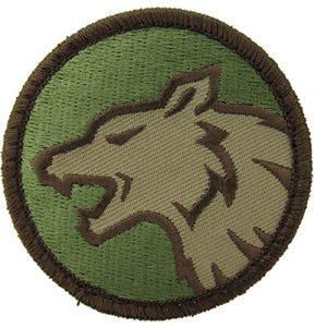 MilSpec Monkey Airsoft Morale Patch 1 Wolf Head Morale Patch (Multicam (OCP))
