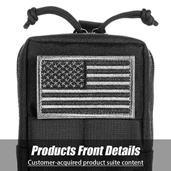 BENYANG Tactical Pouch 6 Molle Gear Pouches,Tactical Military Back Pouch,Molle Attachments Waterproof Small Utility Pouch