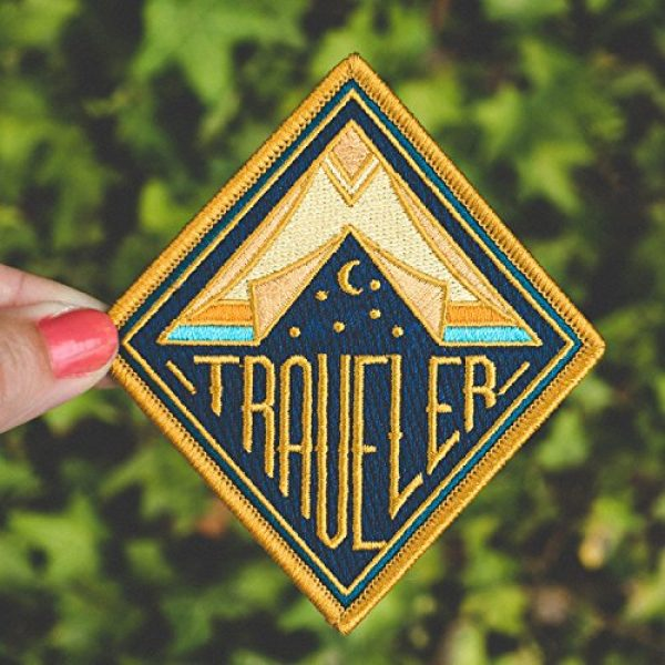 Asilda Airsoft Morale Patch 4 Asilda Embroidered Sew or Iron-on Patch (Traveler)