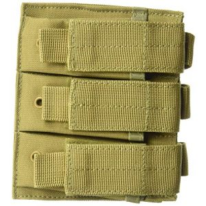 Fox Outdoor Tactical Pouch 1 Fox Outdoor Triple Pistol Mag Pouch Coyote