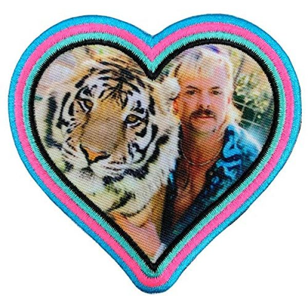 Violent Little Machine Shop Airsoft Morale Patch 1 Violent Little 'Heart of The Tiger King' Joe Exotic Morale Patch with Velcro