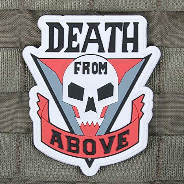 "Violent Little Machine Shop Airsoft Morale Patch 2 Violent Little Machine Shop""Death From Above"" Starship Troopers Morale Patch"