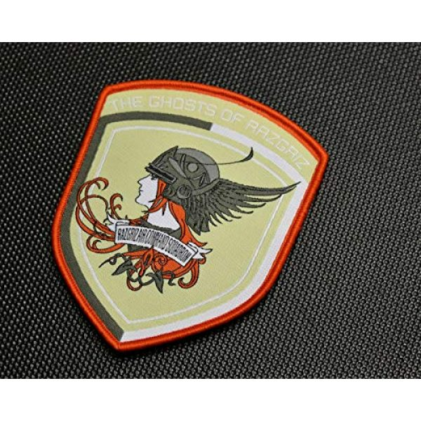 BritKitUSA Airsoft Morale Patch 2 BritKitUSA Ace Combat The Ghosts of Ragriz Morale Patch Velcro Brand Hook and Loop Backing