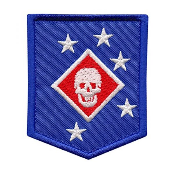 LEGEEON Airsoft Morale Patch 1 LEGEEON USMC Raiders Marines MARSOC Morale Tactical Embroidery Touch Fastener Patch
