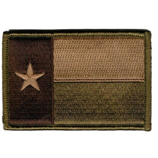 Gadsden and Culpeper Airsoft Morale Patch 1 Texas Tactical Patch - Multitan