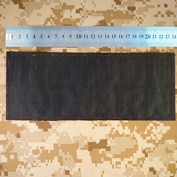 """LEGEEON Airsoft Morale Patch 2 LEGEEON Firearms Instructor Large 10""""x4"""" Plate Carrier Body Armor Vest Tactical Touch Fastener Patch"""