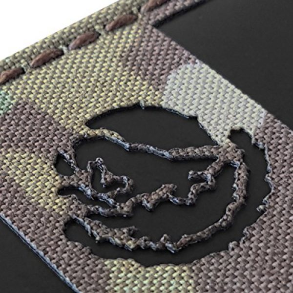 Tactical Freaky Airsoft Morale Patch 4 Multicam Infrared IR Mexico Flag 3.5x2 IFF Tactical Morale Hook&Loop Patch