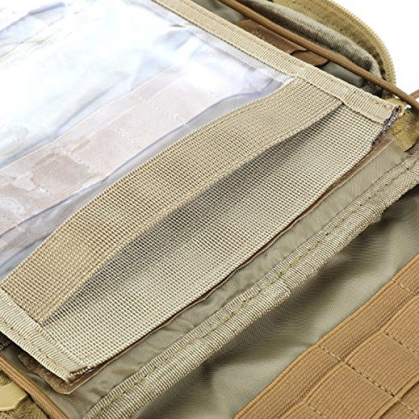 Barbarians Tactical Pouch 6 Barbarians Tactical MOLLE Pouch, Multi-Purpose Tool Holder Modular Utility Pouch