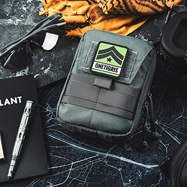 OneTigris Tactical Pouch 7 OneTigris BLADE Multiuse Tool Holder Pouch MOLLE Organizer with Pockets & Tool Slots