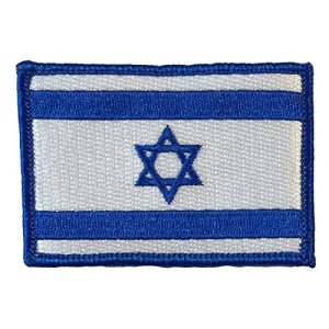 """Gadsden and Culpeper Airsoft Morale Patch 1 ISRAEL Tactical Patch 2""""x3"""" - Star of David"""