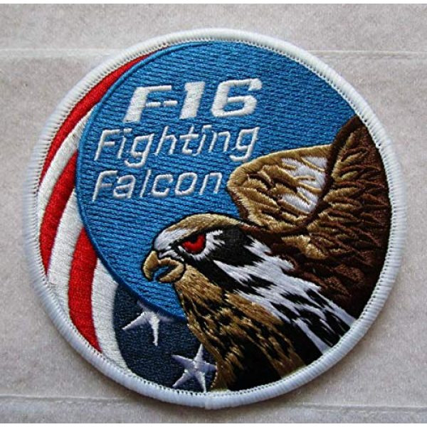 Embroidered Patch Airsoft Morale Patch 1 F-16 USAF Wild Weasel YGBSM 3D Tactical Patch Military Embroidered Morale Tags Badge Embroidered Patch DIY Applique Shoulder Patch Embroidery Gift Patch
