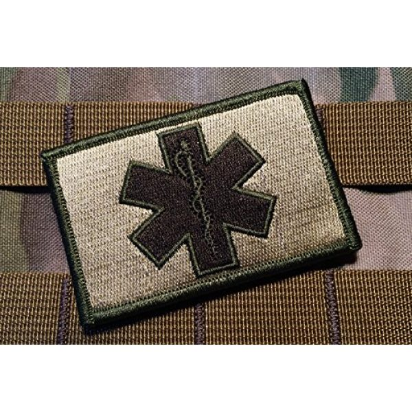 Empire Tactical USA Airsoft Morale Patch 1 Tactical Multicam EMT Paramedic 2x3 Inch Hook/Loop Military Morale Patch