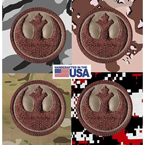 Tactical Patch Works Airsoft Morale Patch 4 Rebel Alliance Star Wars Inspired Art Patch