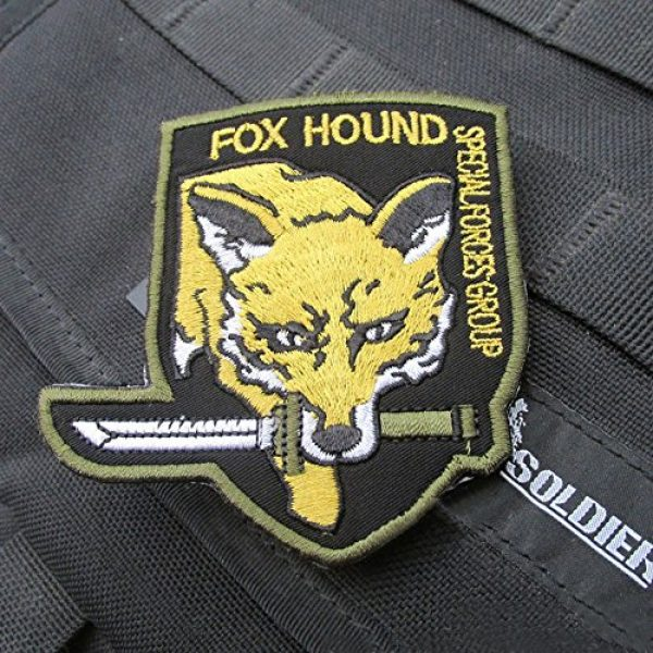 GrayCell Airsoft Morale Patch 4 GrayCell Military Morale Diamond Dogs and Metal Gear Solid Fox Patch
