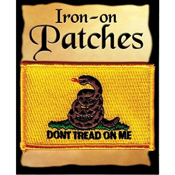 Innovative Ideas Airsoft Morale Patch 1 Gadsen Iron-on Embroidered Patch