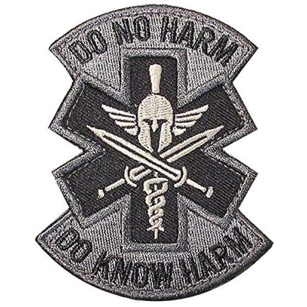 Kaben Airsoft Morale Patch 1 Do No Harm Do Know Harm Spartan Medic Emt Ems Us Morale Badge Acu Patch