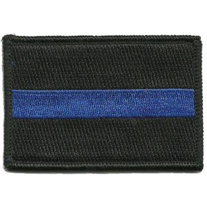 Gadsden and Culpeper Airsoft Morale Patch 1 Thin Blue Line Tactical Patch - by Gadsden and Culpeper