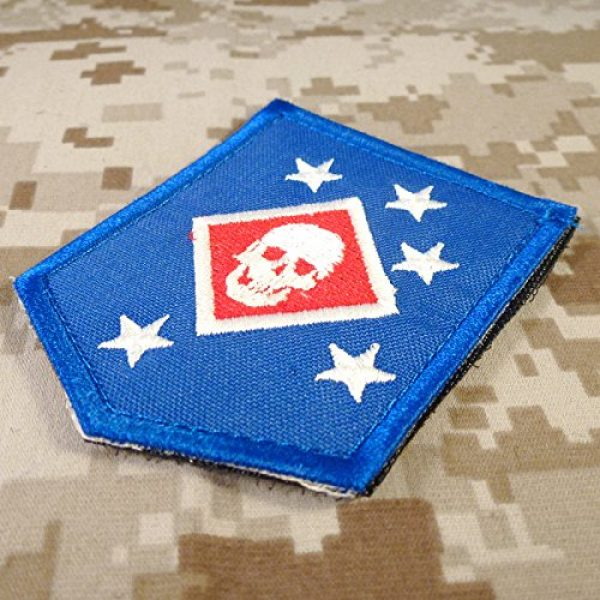 LEGEEON Airsoft Morale Patch 2 LEGEEON USMC Raiders Marines MARSOC Morale Tactical Embroidery Touch Fastener Patch