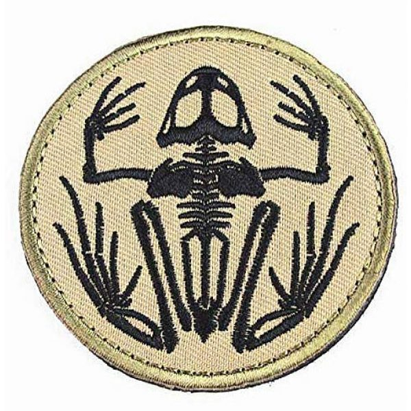 Embroidery Patch Airsoft Morale Patch 1 Navy Devgru Seal Team 6 Skeleton Frog Frogman Military Hook Loop Tactics Morale Embroidered Patch