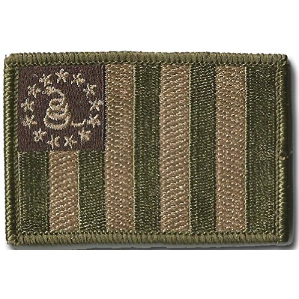Gadsden and Culpeper Airsoft Morale Patch 2 Sons Of Liberty/Gadsden Tactical Patches