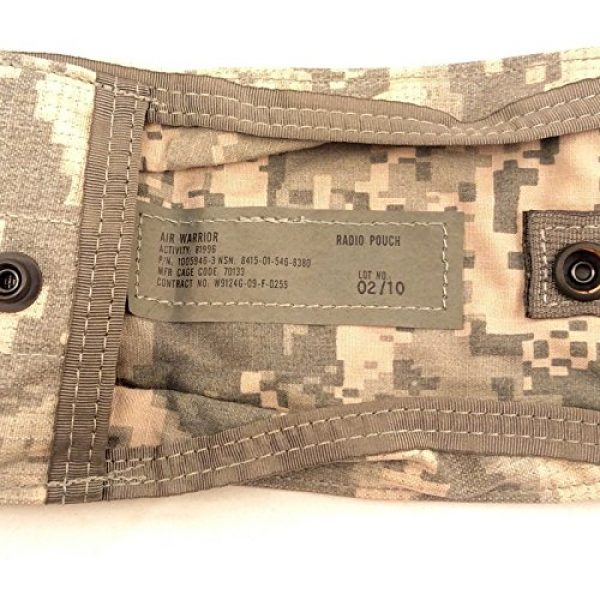 Air Warrior Tactical Pouch 5 Air Warrior Radio Pouch Primary Survival Gear Carrier PSGC ACU
